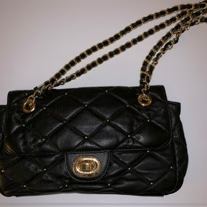 Black Quilted Evening Bag/Clutch